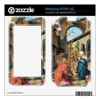 Albrecht Durer - Birth of Christ Motorola ATRIX 4G Decals