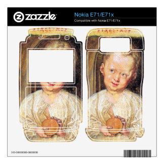 Albrecht Durer - Boy Jesus Decals For The Nokia E71x