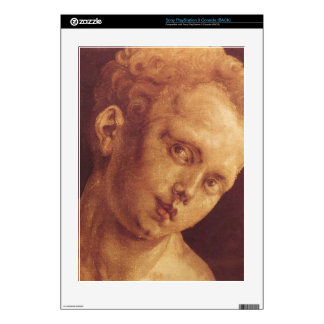 Albrecht Durer - Boys head tilted to the right Decals For The PS3