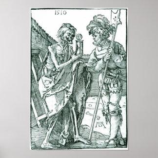 Albrecht Dürer - Death & The Landsknecht Poster