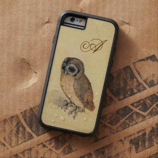 Albrecht Durer el monograma del pequeño búho Funda Para iPhone 6 Tough Xtreme