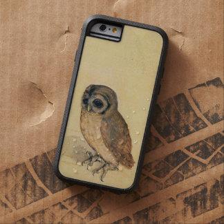 Albrecht Durer el vintage del pequeño búho Funda Para iPhone 6 Tough Xtreme