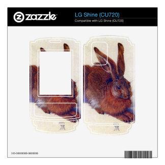 Albrecht Durer - Field hare Skin For LG Shine