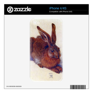 Albrecht Durer - Field hare Decal For The iPhone 4S