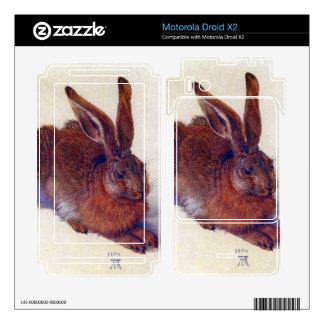 Albrecht Durer - Field hare Motorola Droid X2 Decals