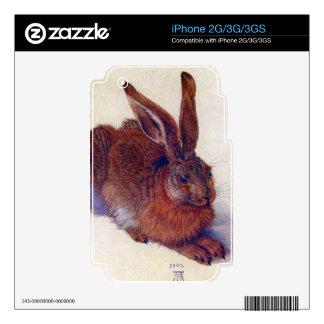 Albrecht Durer - Field hare iPhone 3G Skin