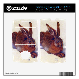 Albrecht Durer - Field hare Skin For Samsung Propel