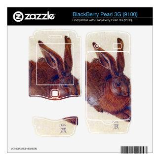 Albrecht Durer - Field hare BlackBerry Pearl 3G Skins