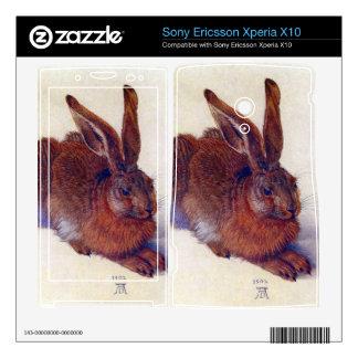 Albrecht Durer - Field hare Xperia X10 Mini Pro Skins