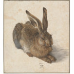 "Albrecht D&#252;rer - Hare Statuette<br><div class=""desc"">Albrecht D&#252;rer - Hare,  1502. Illustration of the rabbit by one of the most important North renaissance painters.</div>"