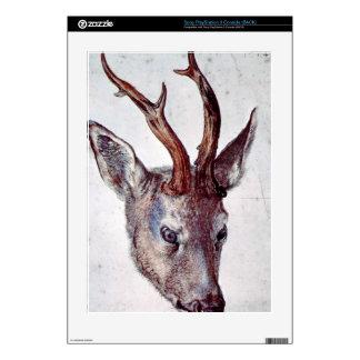 Albrecht Durer - Head of a deer PS3 Console Decal