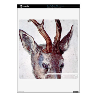 Albrecht Durer - Head of a deer PS3 Slim Console Skin