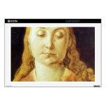 """Albrecht Durer - Head of Mary Skins For 17"""" Laptops"""