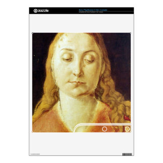 Albrecht Durer - Head of Mary Skins For The PS3 Slim