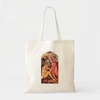 Albrecht Durer - Job mocked by his wife Canvas Bag
