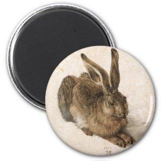 Albrecht Dürer - Junger Hase (Young Hare), 1502 2 Inch Round Magnet