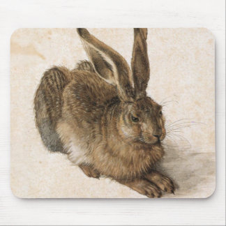 Albrecht Dürer - Junger Hase (Young Hare), 1502 Mouse Pad