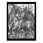 Albrecht Durer Knight Death and the Devil Postcards