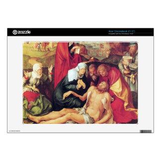Albrecht Durer - lamentación de Cristo Calcomanía Para Acer Chromebook