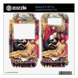 Albrecht Durer - Lamentation of Christ Decal For Nokia E71