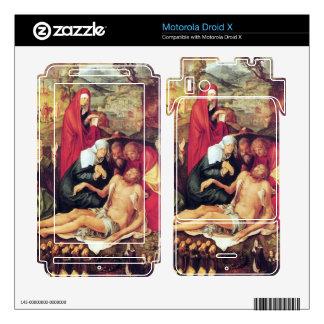 Albrecht Durer - Lamentation of Christ Skin For Motorola Droid X