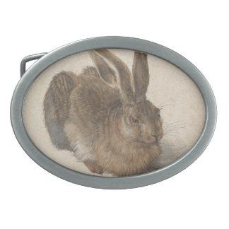 Albrecht Dürer - liebre Hebilla Cinturon Oval