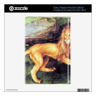 Albrecht Durer - Lion Decals For Sony Reader