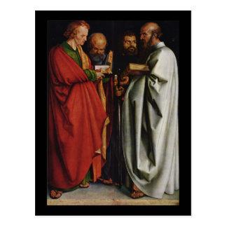 Albrecht Durer los cuatro apóstoles Tarjetas Postales