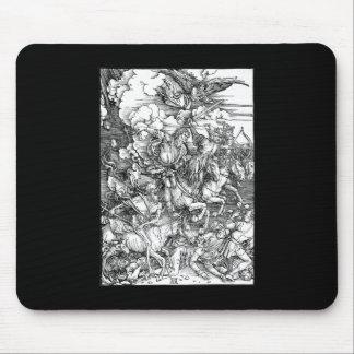 Albrecht Durer los cuatro jinetes de la apocalipsi Mouse Pad
