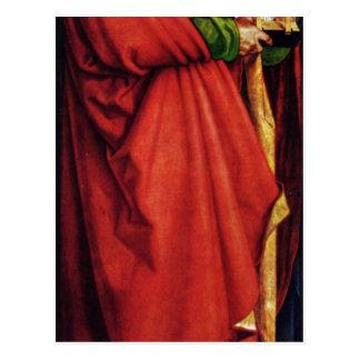 Albrecht Durer - los santos Juan y Peter Postales