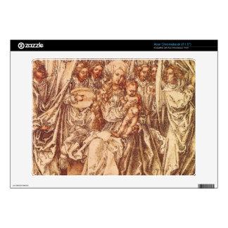 Albrecht Durer - Madonna with angels under a canop Decal For Acer Chromebook