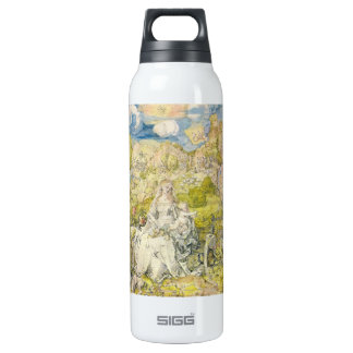 Albrecht Durer - Madonna with the many animals 16 Oz Insulated SIGG Thermos Water Bottle