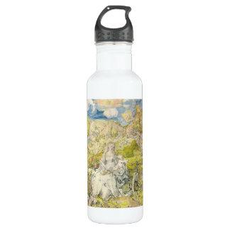 Albrecht Durer - Madonna with the many animals 24oz Water Bottle