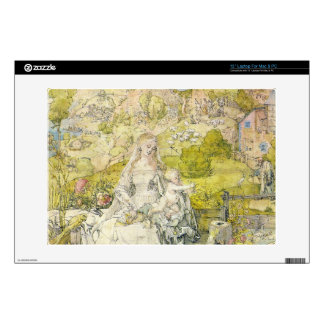 Albrecht Durer - Madonna with the many animals Laptop Decals