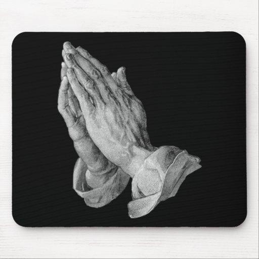 Albrecht Durer - manos que ruegan Alfombrillas De Raton
