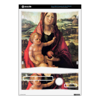 Albrecht Durer - Mary with child against a landsca Xbox 360 S Skin