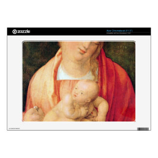 Albrecht Durer - Mary with the child squatting Decal For Acer Chromebook