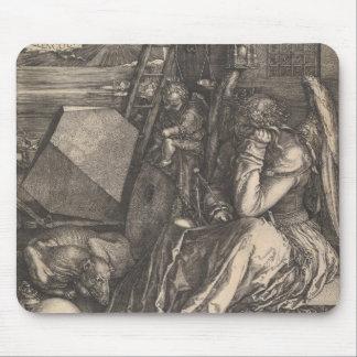 "Albrecht Durer - ""Melencolia I"" - Inset Mouse Pad"