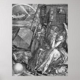 Albrecht Durer Melencolia I Poster