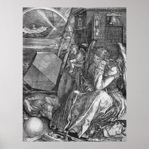 Albrecht Durer Melencolia I Print