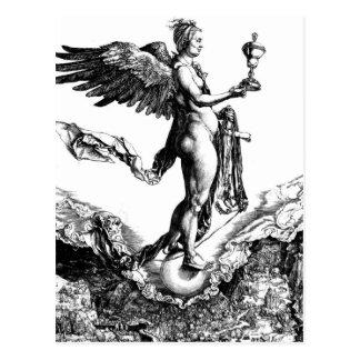 Albrecht Durer - Nemesis GC Postcard