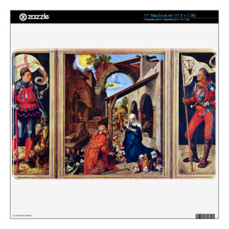Albrecht Durer - Paumgartner Altar the general vie Skins For The MacBook