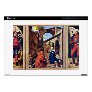 "Albrecht Durer - Paumgartner Altar the general vie Decal For 15"" Laptop"