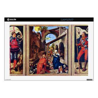 """Albrecht Durer - Paumgartner Altar the general vie Skin For 17"""" Laptop"""