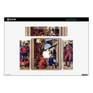 Albrecht Durer - Paumgartner Altar the general vie Decal For Mac Mini