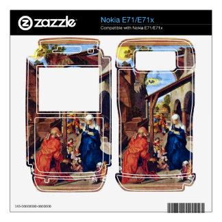 Albrecht Durer - Paumgartner Altar the general vie Decal For The Nokia E71x