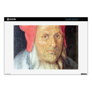 Albrecht Durer - Portrait of a bearded man with re Skin For Laptop