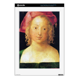 Albrecht Durer - Portrait of a young girl with a r PS3 Decal