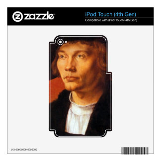 Albrecht Durer - Portrait of a young man 3 Skin For iPod Touch 4G