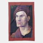 Albrecht Durer - Portrait of a young man Hand Towels